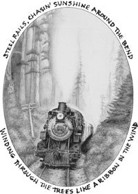 Steel Rails drawing